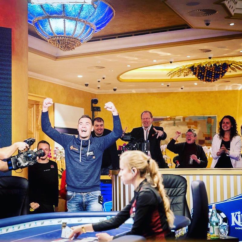 Mathijs Jonkers MEC Poker Open