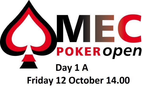 MEC Poker Open Day 1 A