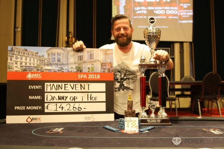 Danny op t Hof MEC Poker Open