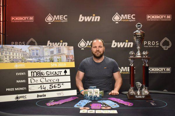 winnaar MEC Poker Open 2