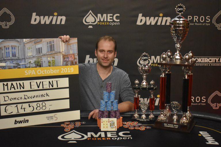 Winner October 2019 - Domien Deconinck